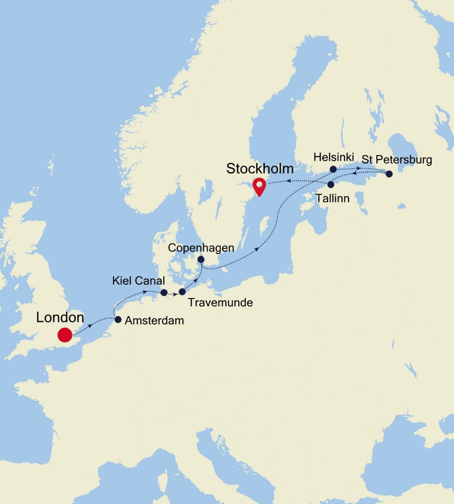 SW200525014 - London nach Stockholm