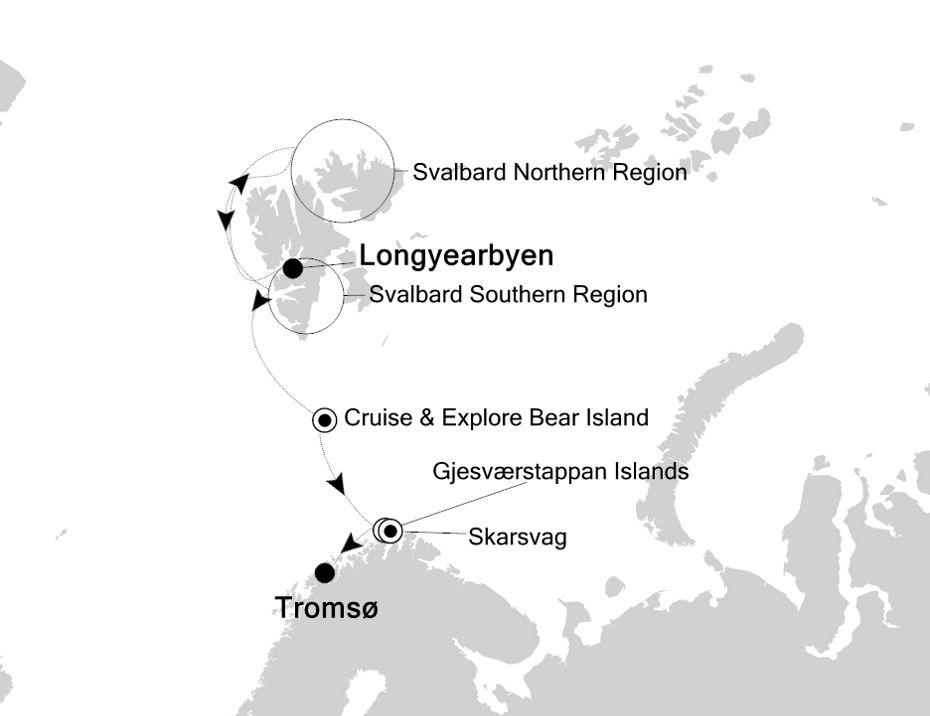 1916 - Longyearbyen a Tromsø