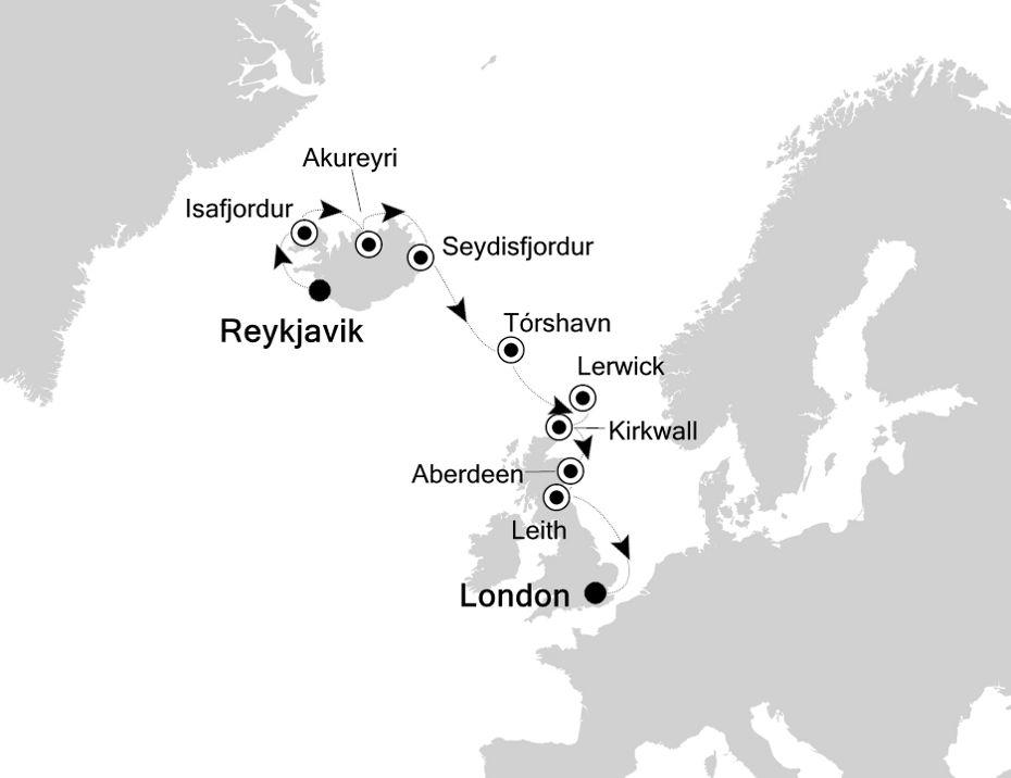 2823 - Reykjavik to London