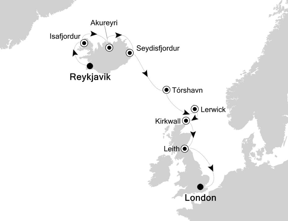 2922 - Reykjavik to London