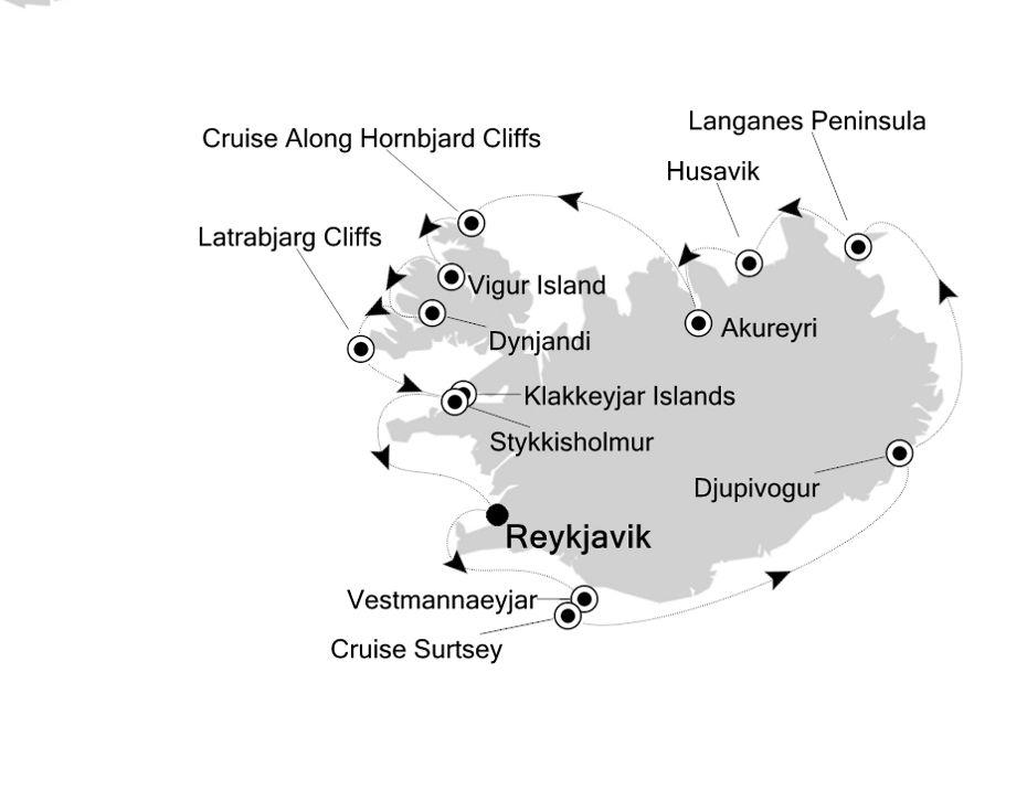 1918 - Reykjavik nach Reykjavik