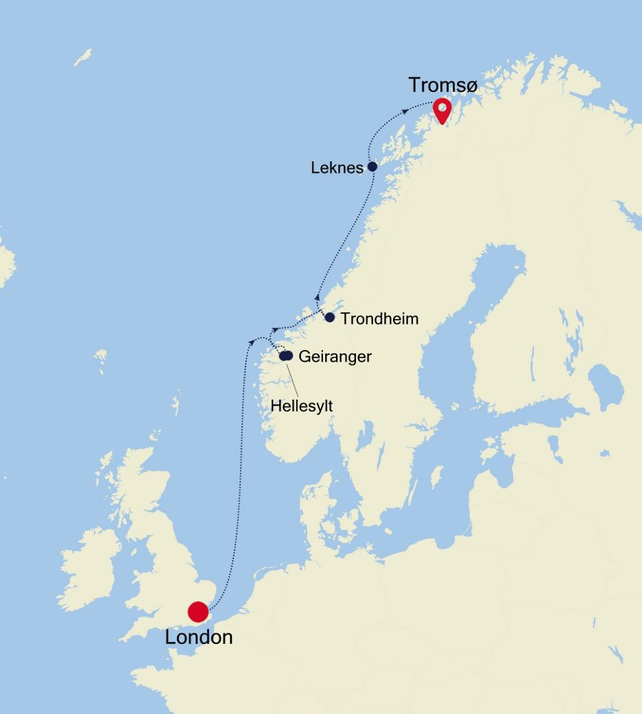 5917A - London to Tromsø