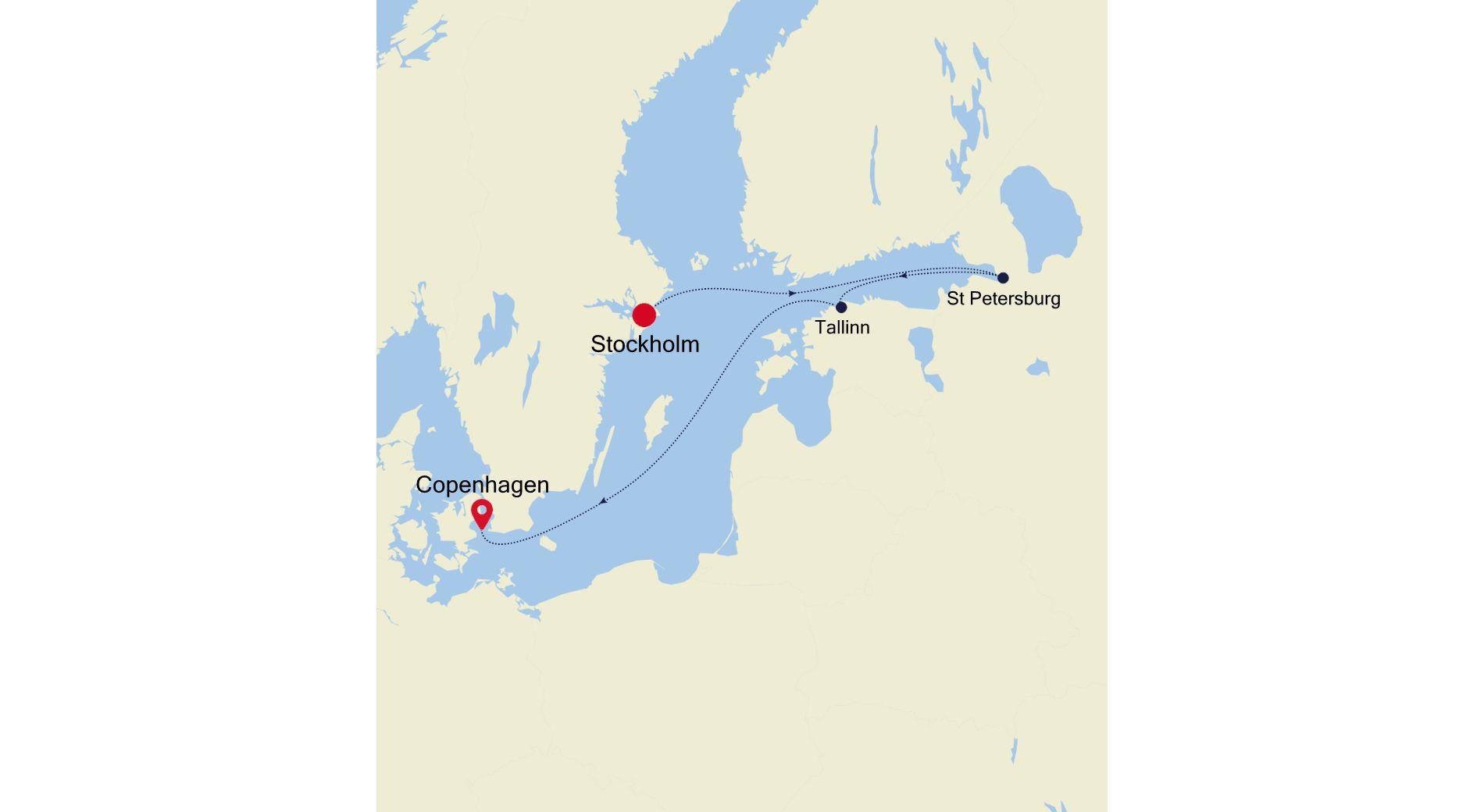 5926B - Stockholm to Copenhagen