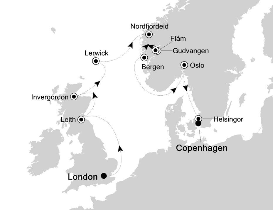 SL200618012 - London to Copenhagen