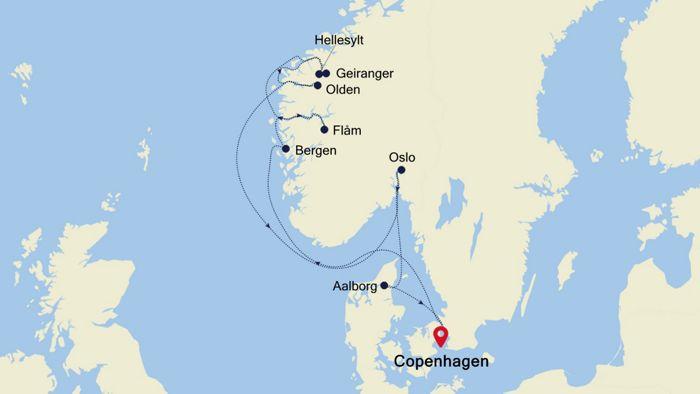 525b6390fb9f Luxury Cruise from COPENHAGEN to COPENHAGEN 17 Jul 2020 ...