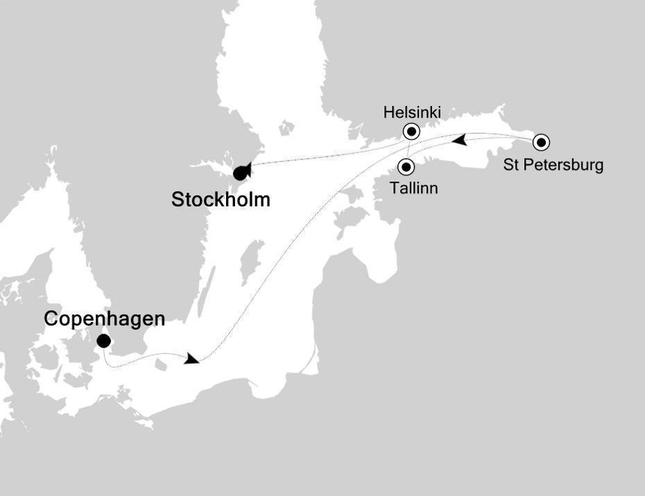 SL200727007 - Copenhagen nach Stockholm