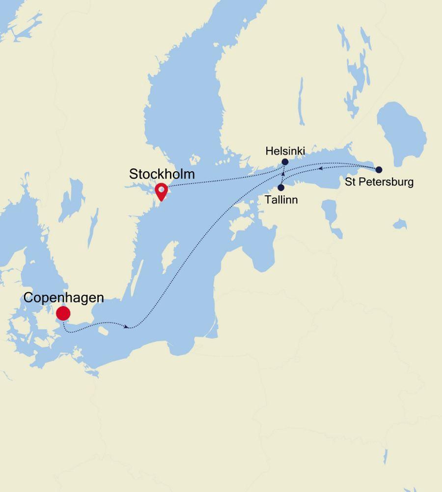 SL200727007 - Copenhagen to Stockholm