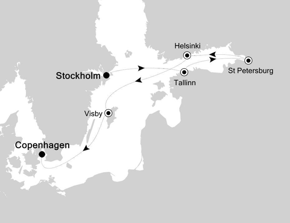 SL200803007 - Stockholm à Copenhagen