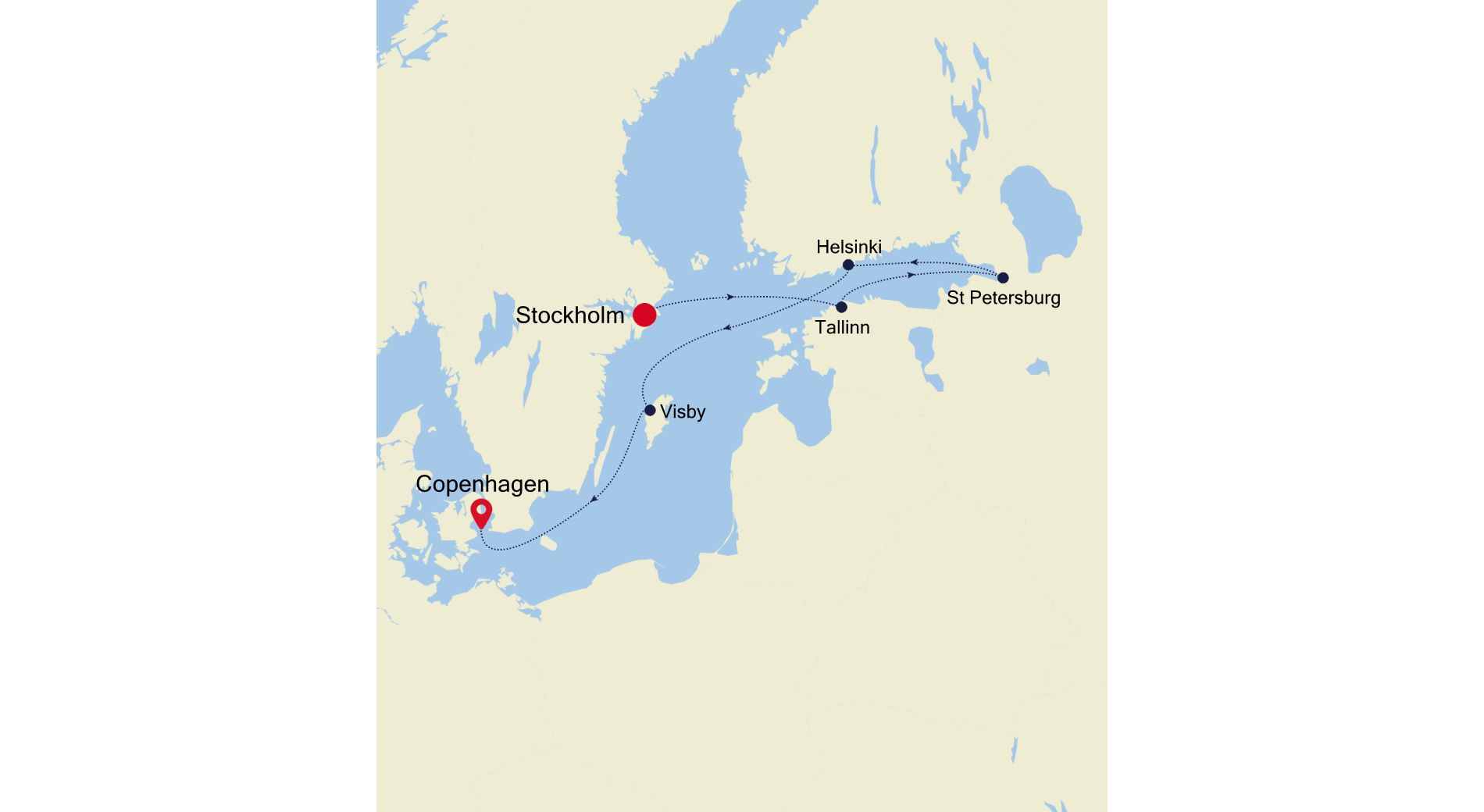 SL200803007 - Stockholm nach Copenhagen