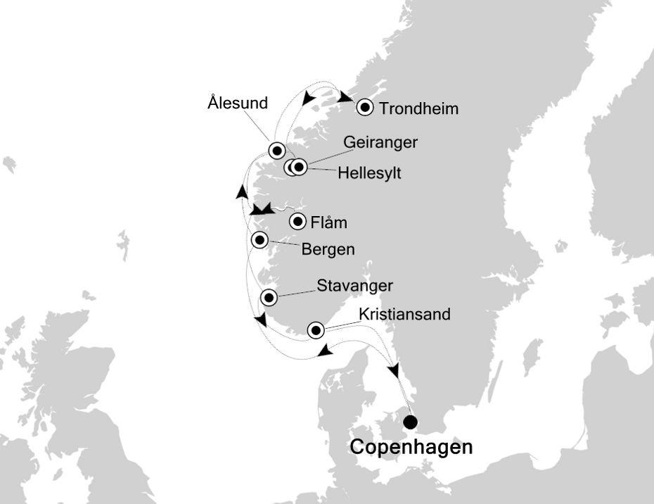 SL200810010 - Copenhagen nach Copenhagen