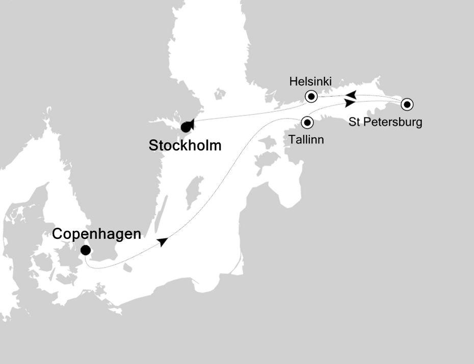 SL200820007 - Copenhagen à Stockholm