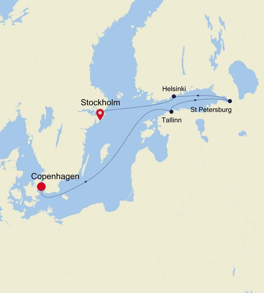 SL200820007 - Copenhagen a Stockholm