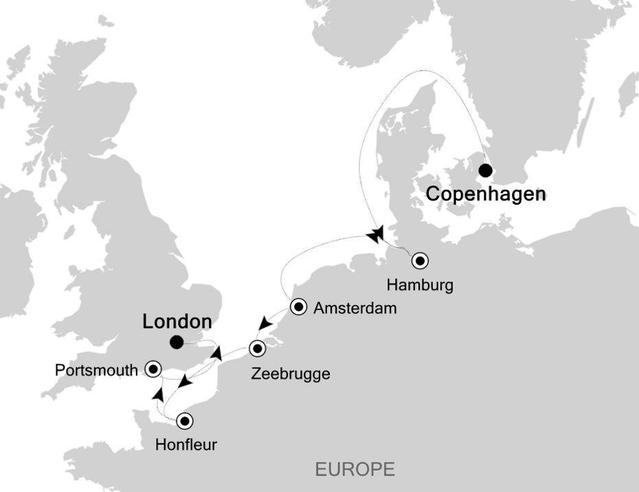 SL200903011 - Copenhagen nach London