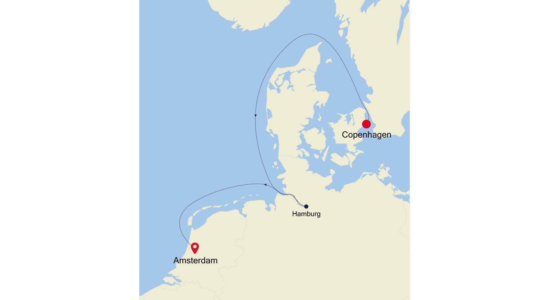 SL200903005 - Copenhagen to Amsterdam
