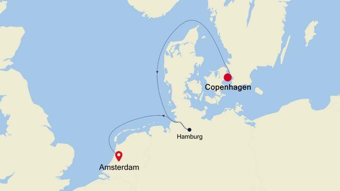 Luxury Cruise From Copenhagen To Amsterdam 03 Sep 2020