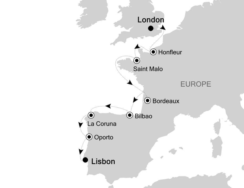 SL200914011 - London nach Lisbon