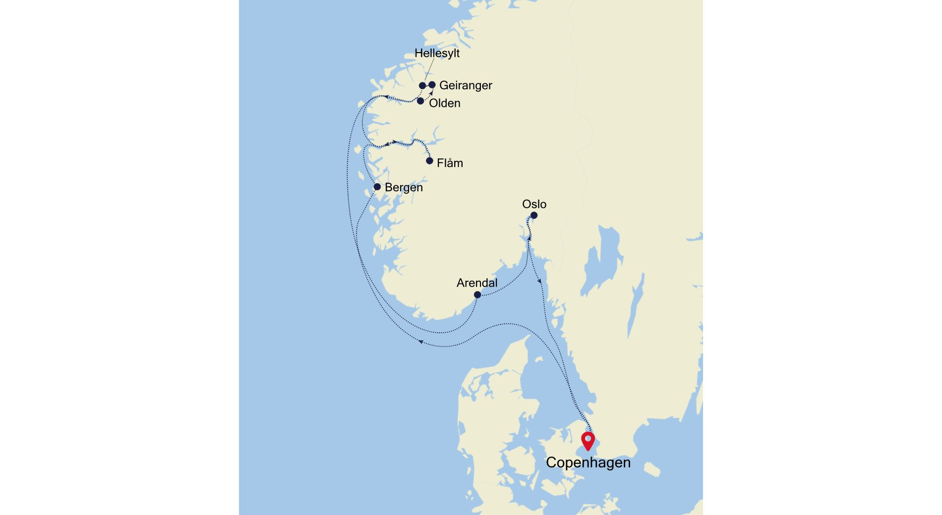 SL210706010 - Copenhagen nach Copenhagen