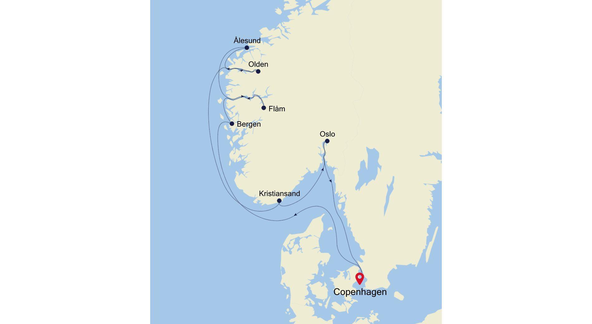 SL210730010 - Copenhagen to Copenhagen