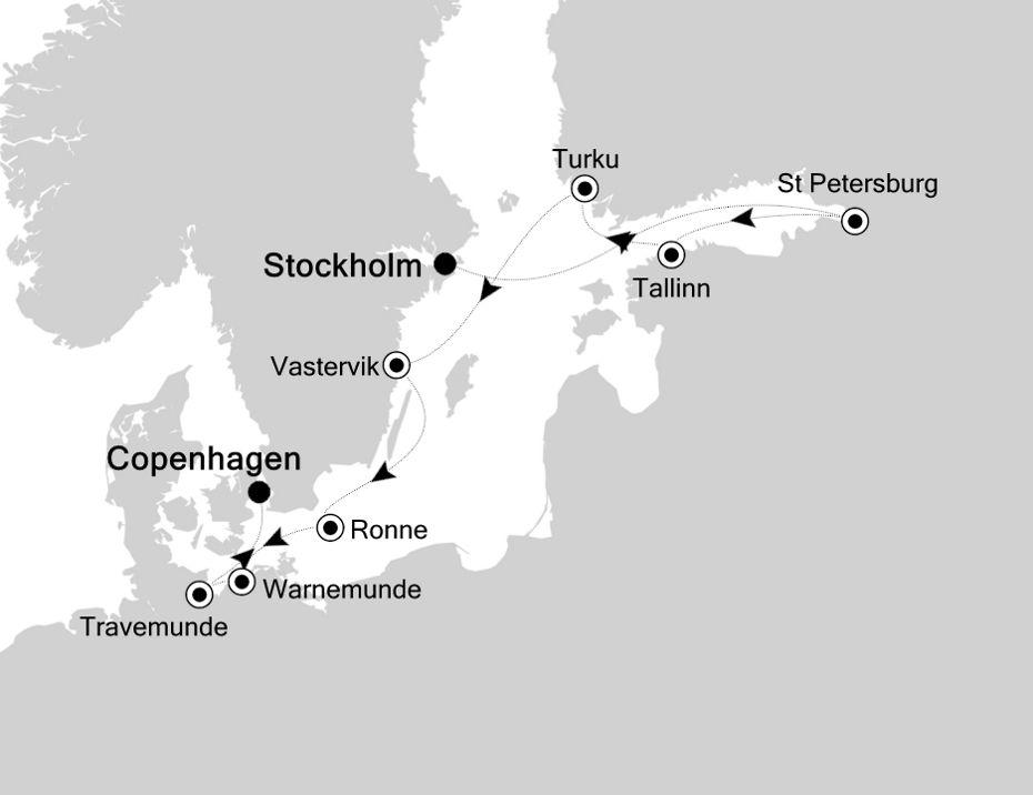 2827 - Stockholm nach Copenhagen