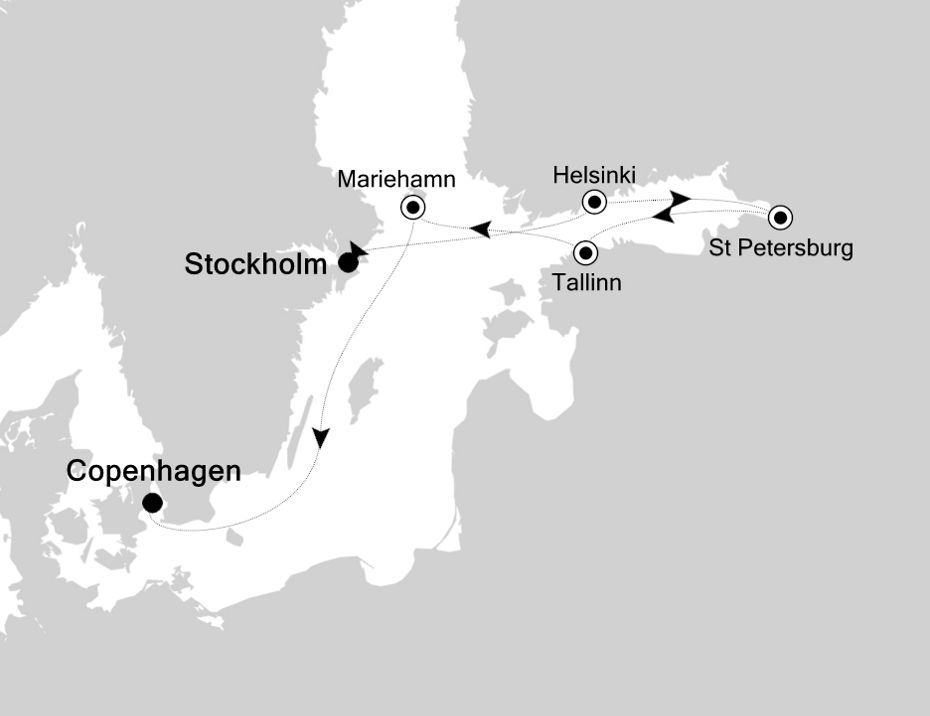 5921 - Stockholm nach Copenhagen