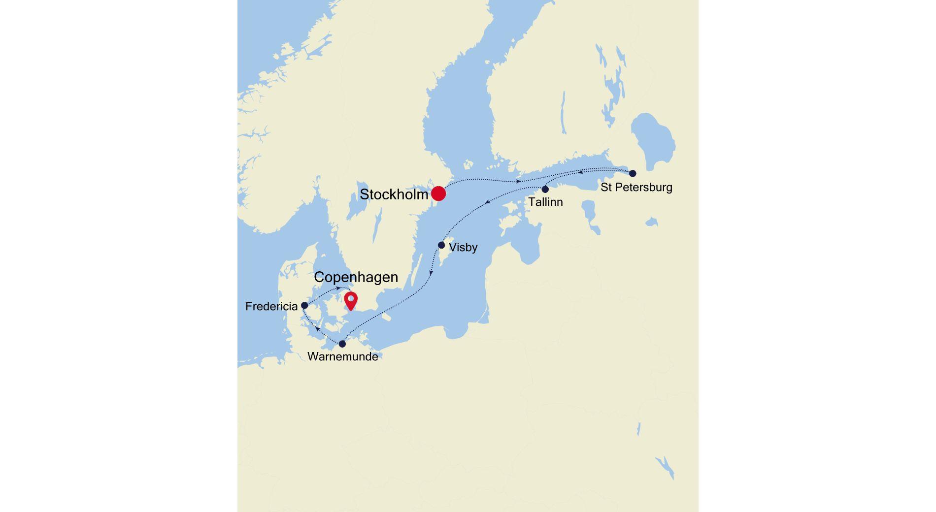 5924 - Stockholm nach Copenhagen