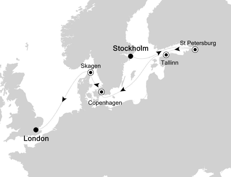 5824 - Stockholm to London