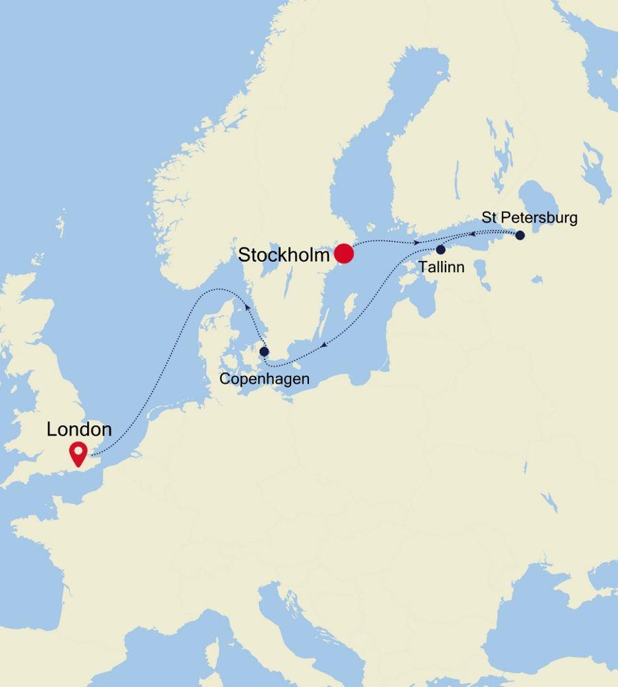 5926 - Stockholm à London