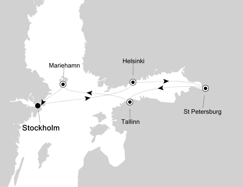 5820 - Stockholm à Stockholm