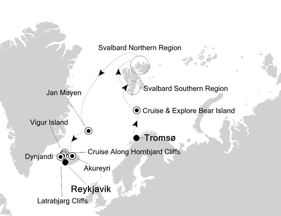 1917 - Tromsø to Reykjavik