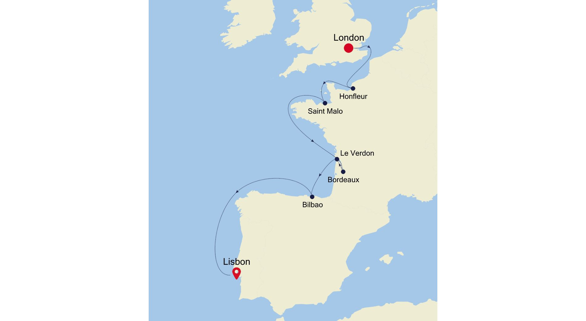 4910A - London à Lisbon