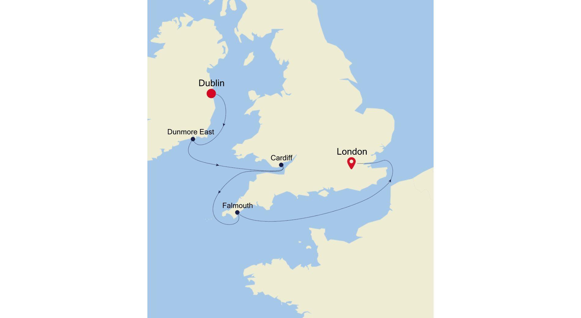 WH200601005 - Dublin nach London