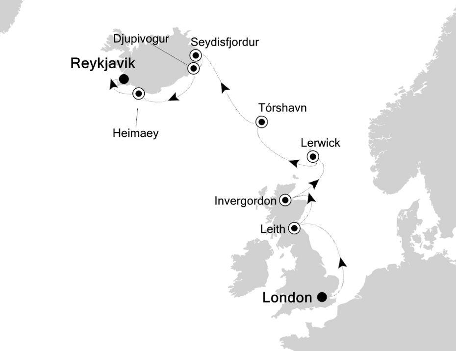 WH200606012 - London à Reykjavik