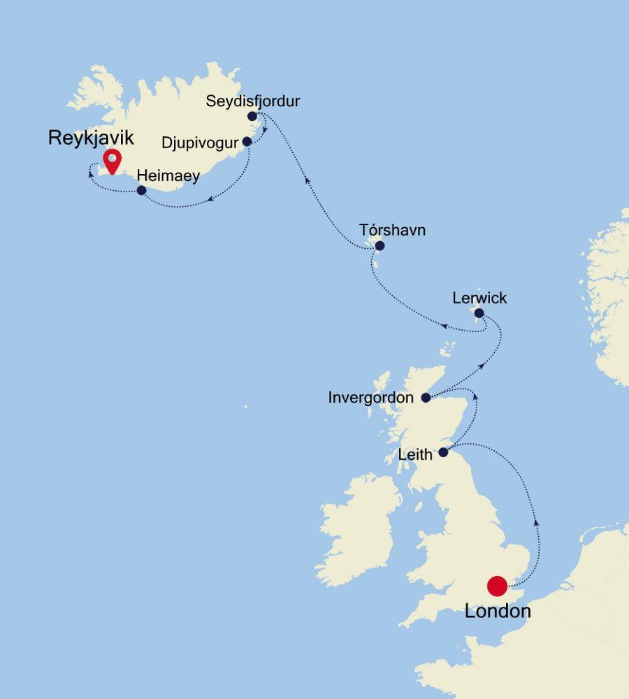 WH200606012 - London to Reykjavik