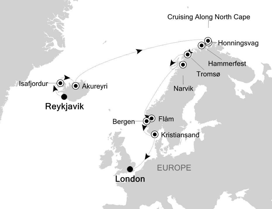 WH200618015 - Reykjavik to London