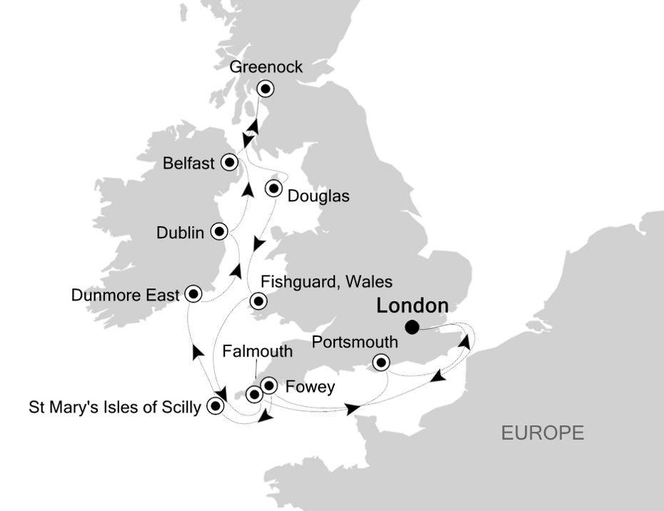 Luxury Cruise From London Greenwich To London Greenwich 03 Jul