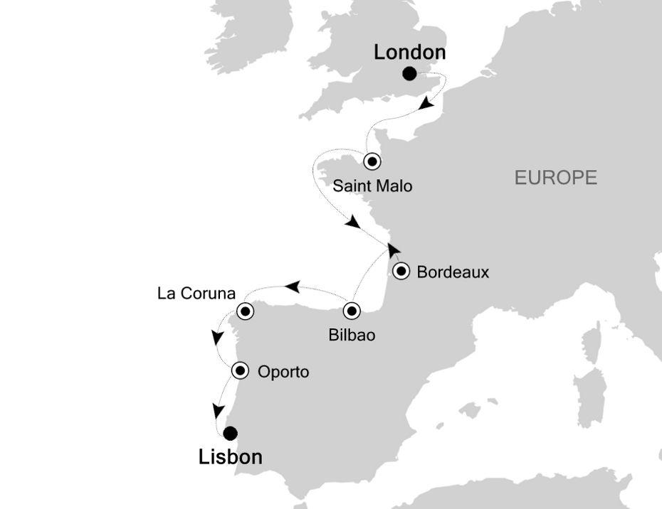 WH200718009 - London to Lisbon
