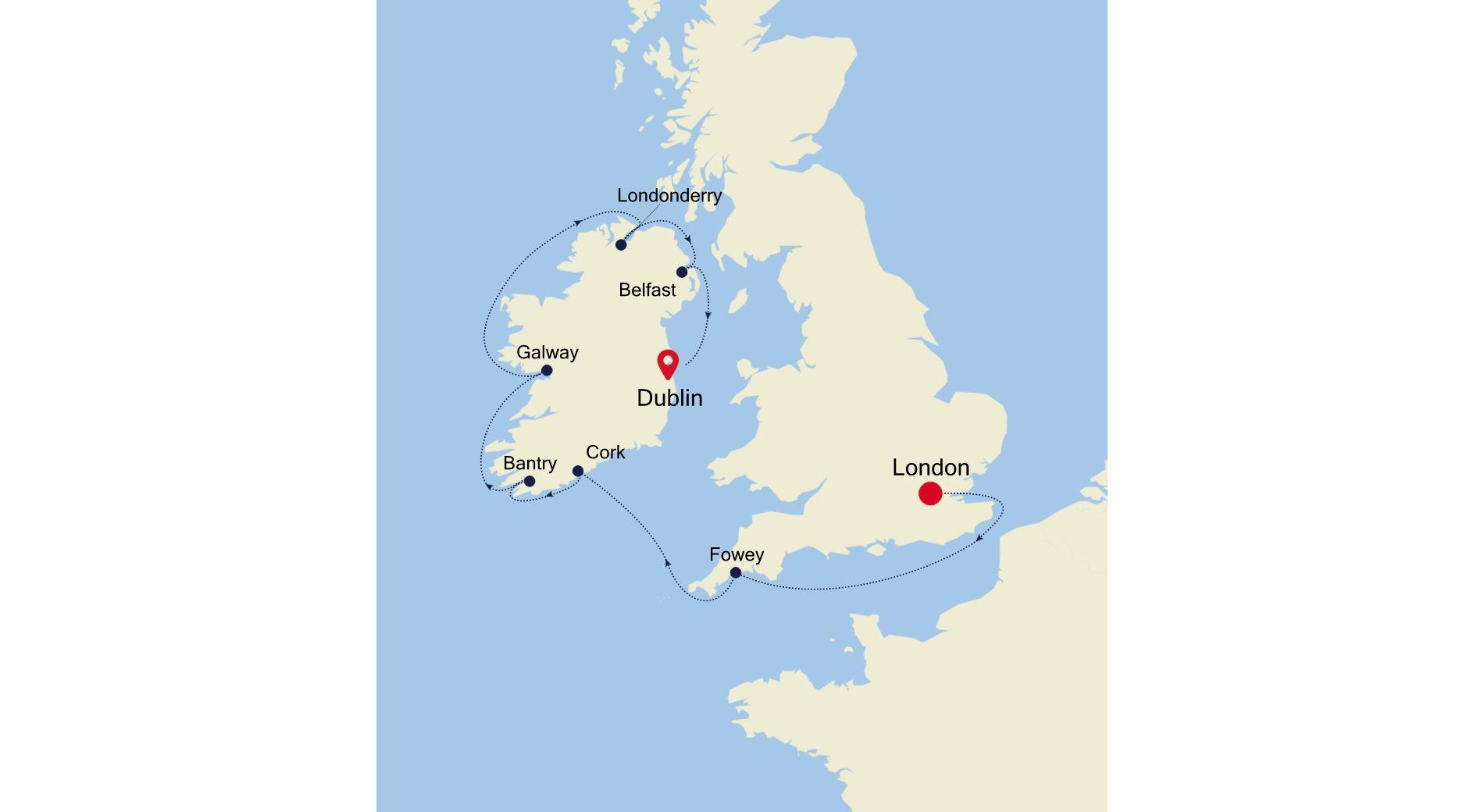 2923A - London nach Dublin
