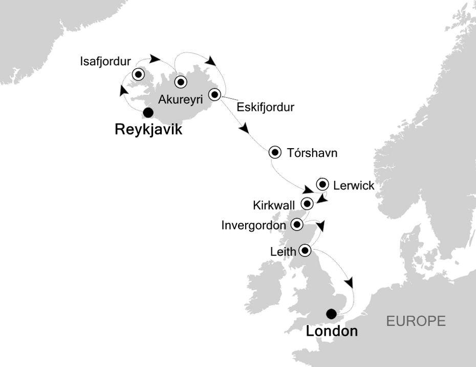 SW200708012 - Reykjavik to London