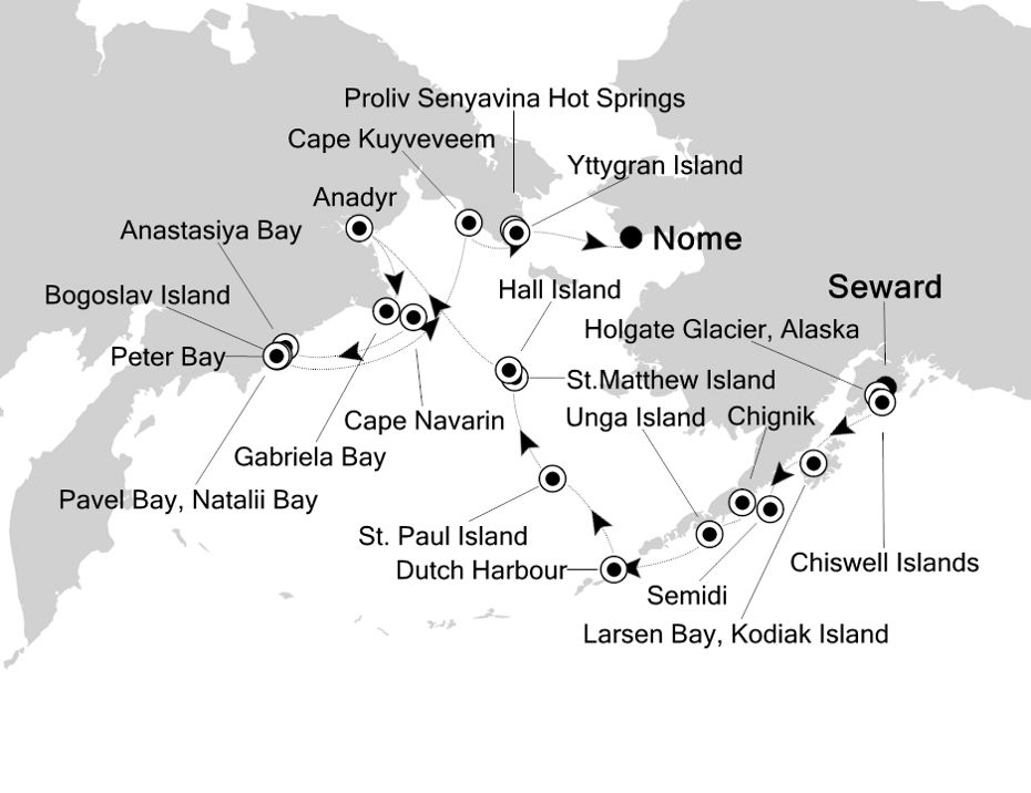 E1200723018 - Seward a Nome