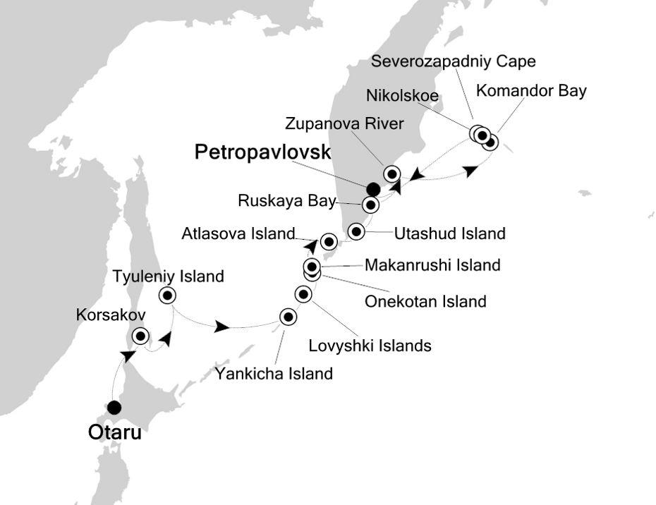 7814 - Otaru nach Petropavlovsk
