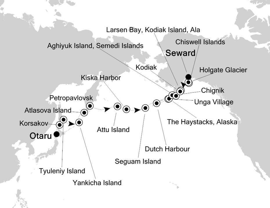 7912 - Otaru à Seward