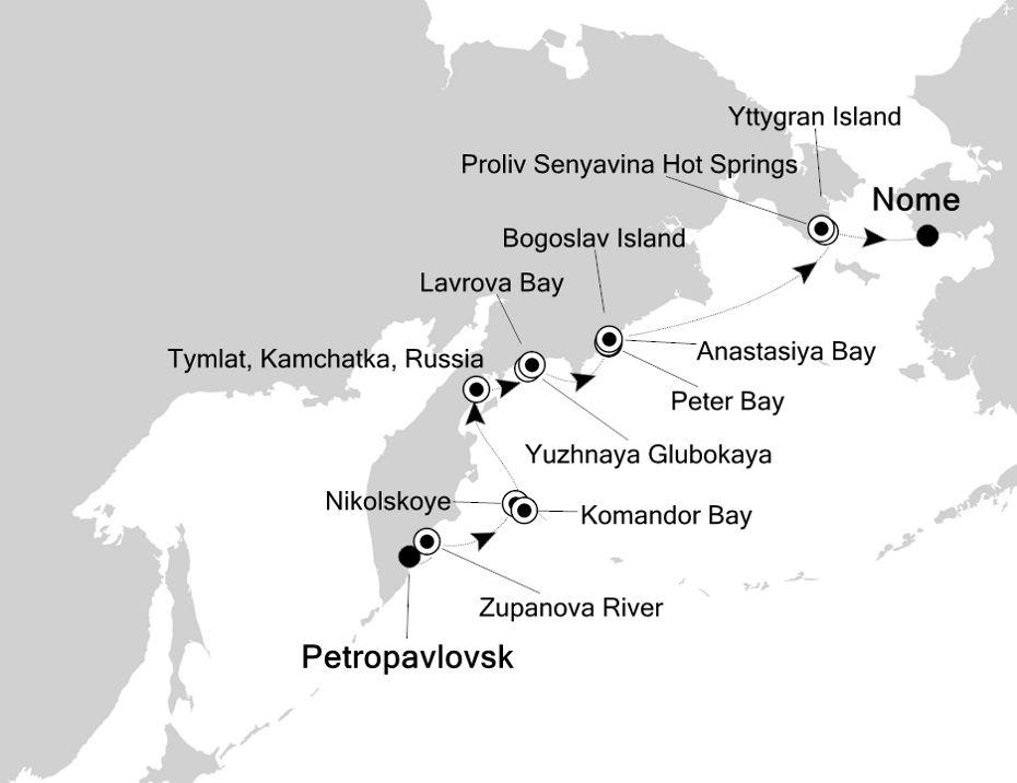7815 - Petropavlovsk nach Nome