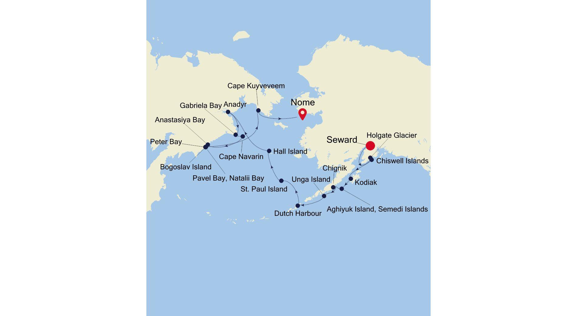7915 - Seward to Nome