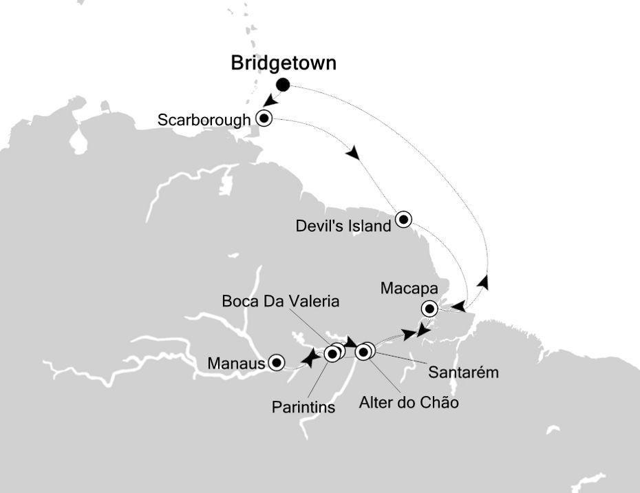 4830 - Bridgetown nach Bridgetown