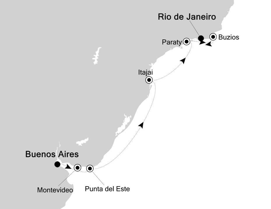 3003 - Buenos Aires a Rio de Janeiro