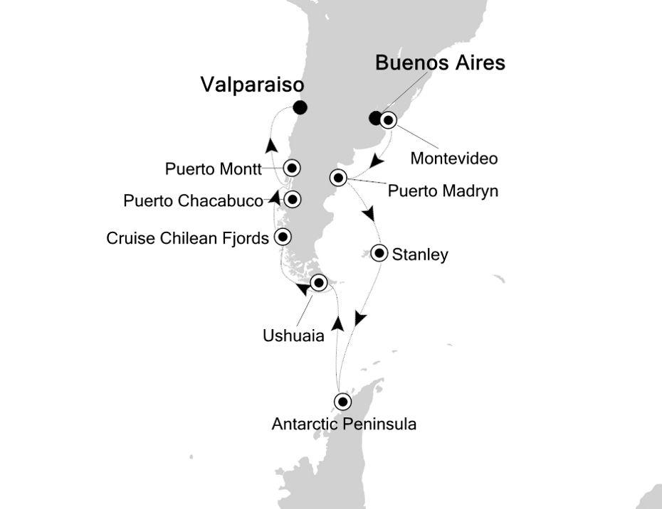 4002 - Buenos Aires nach Valparaiso