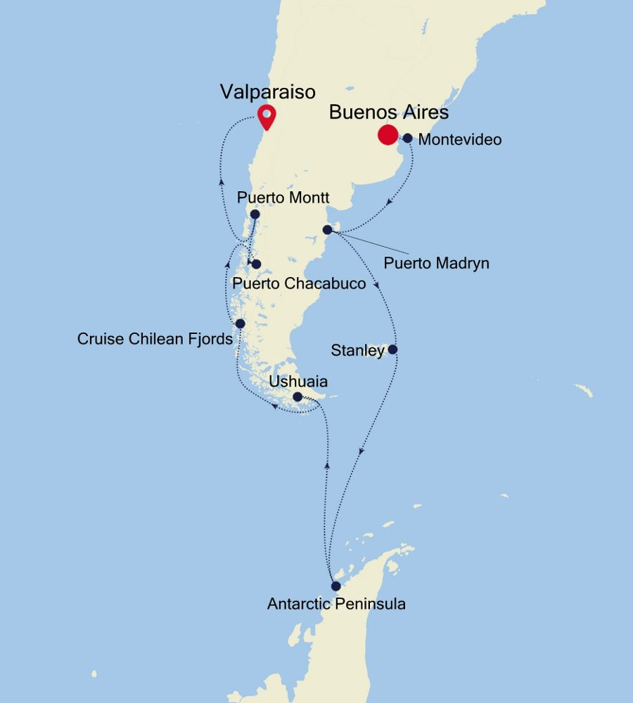 4002 - Buenos Aires to Valparaiso