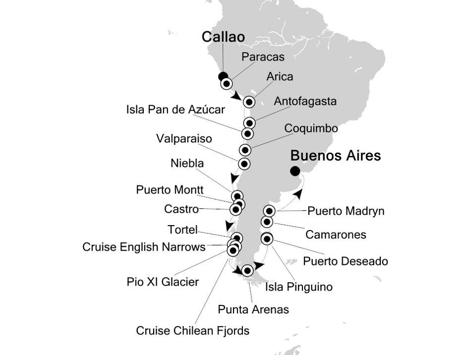 1924 - Callao à Buenos Aires