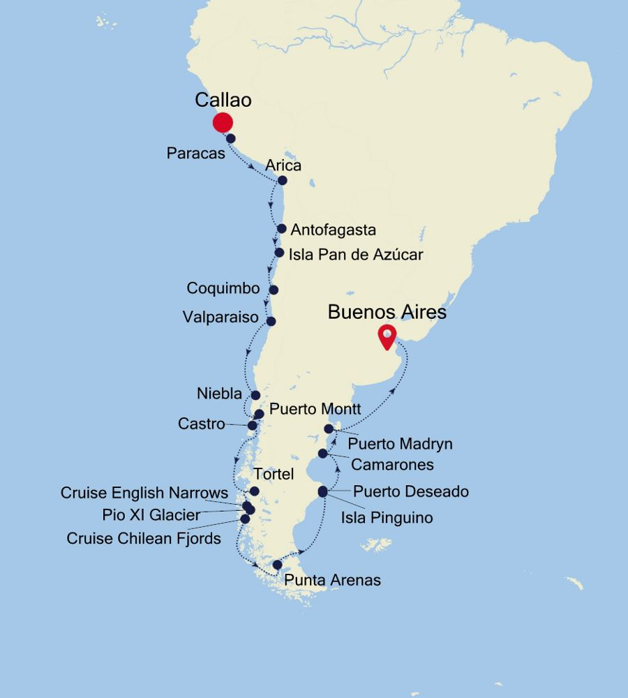 1924 - Callao to Buenos Aires