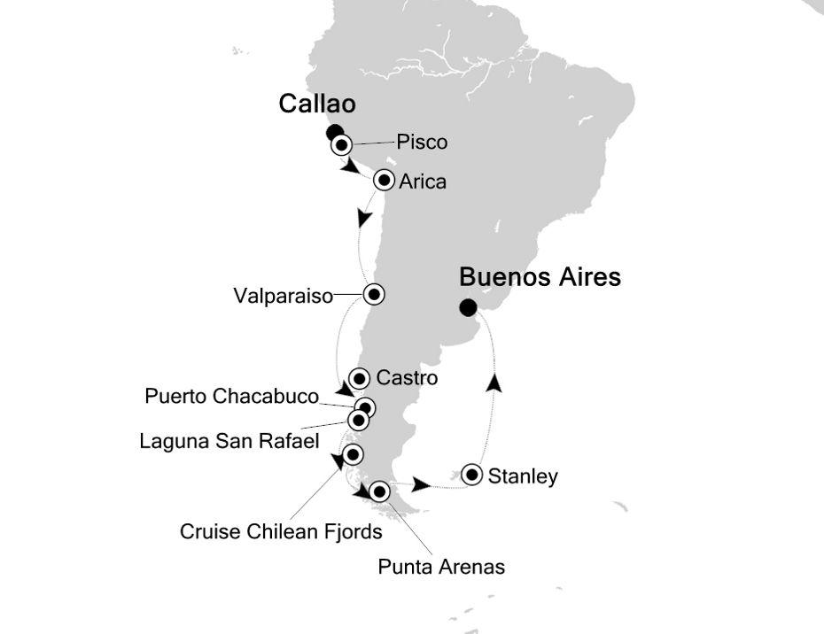 3002 - Callao nach Buenos Aires